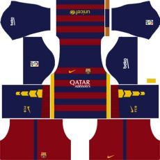 barcelona kits 2015 2016 league soccer - Kit Dls Barcelona 2015