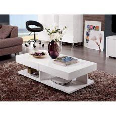 mesas de centro para salas pequenas modernas mesa de centro sala dise 241 o moderna expandible ref aramis 289 900 en mercado libre
