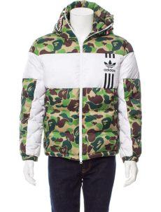 bape x adidas puffer jacket replica adidas originals x bape camouflage puffer jacket clothing wadio20001 the realreal