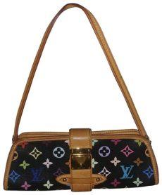 louis vuitton multicolor bag price louis vuitton shirley clutch price black multicolor leather shoulder bag tradesy