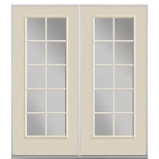 french door glass inserts home depot masonite 60 in x 80 in view steel prehung left inswing 10 lite clear glass patio