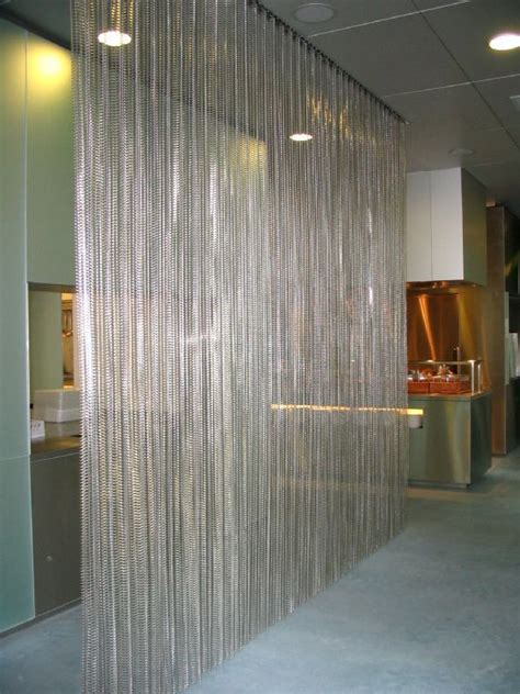 10 images metal curtains room dividers