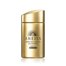 anessa perfect uv sunscreen aqua booster review anessa uv sunscreen aqua booster spf 50 pa shiseido skincarisma