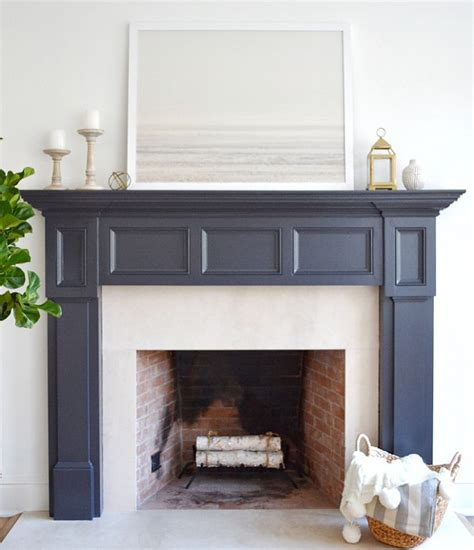 fireplace paint color benjamin moore midnight oil