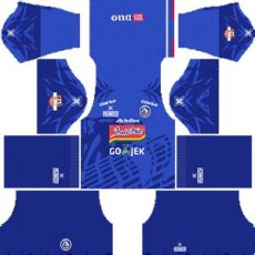kit dls liga 1 indonesia 2019 arema fc kits 2019 2020 league soccer fts dls kits