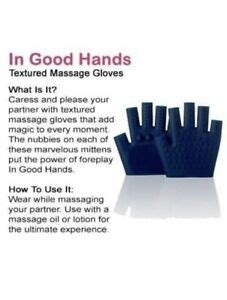 in good hands massage gloves quot in quot gloves by new free shipping ebay
