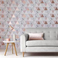 rose gold reflections wallpaper amazon graham brown announces reflections as wallpaper of the year 2017
