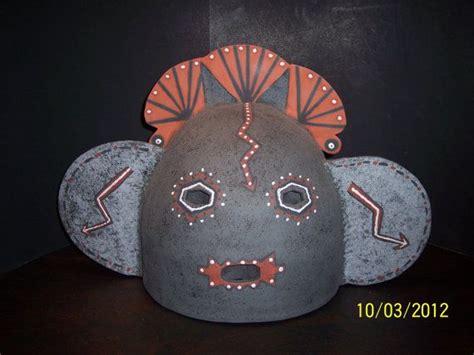 ceramic wall sconce southwestern native mask 3 wall