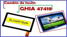 ghia tablet 47418 firmware c 243 mo cambiar touch tablet ghia 47418