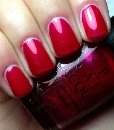opi blues for red swatch swatches by an opi addict opi classics collection swatches