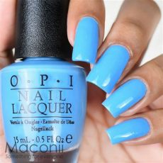 opi no room for the blues b83 brights baby light blue nail 15ml ebay - Opi Light Blue Nail Polish