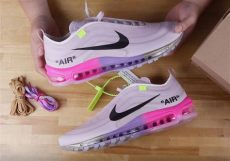air max 97 x off white queen white nike air max 97 quot quot unboxing sneakernews