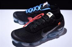 nike air vapormax off white black white x nike air vapormax flyknit black total crimson clear sole look