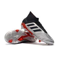 adidas botas de futbol hombre botas de futbol adidas predator 19 1 fg hombre metal negro