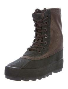 yeezy season 1 boots yeezy x adidas yeezy x adidas season 1 950 ankle boots shoes wyead20090 the realreal