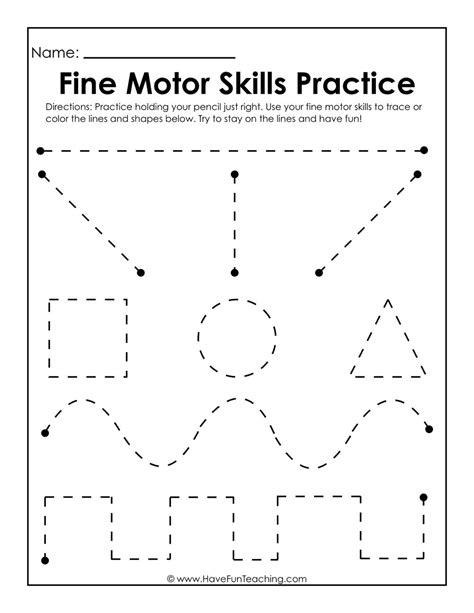 fine motor skills practice worksheet writing practice worksheets