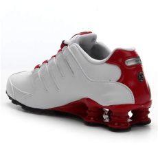 t 234 nis nike shox nz masculino branco e vermelho netshoes - Nike Shox Nz 2017