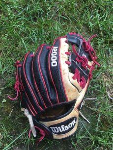 wilson shortstop gloves wilson shortstop baseball glove a2000 dustin pedroia dp15 11 5 quot pro stock baseball glove