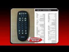 codigos para programar control universal rca c 211 digos para programar un remoto universal rca rcu404 remotos bahia