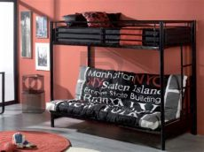 litera con futon cama - Litera Con Futon