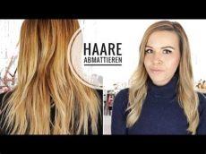 gelbstich entfernen haare einfach und g 252 nstig zuhause abmattieren - Haare Abmattieren Friseur