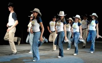 narrative country line dancing