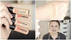 morphe concealer shades morphe concealer review and demo kate