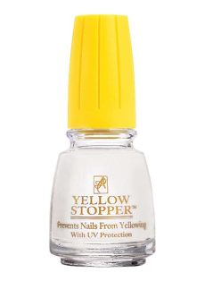 yellow stopper nail polish yellow nail stopper drleonards