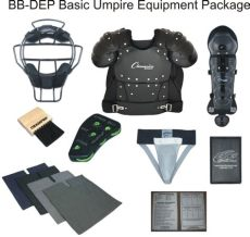 umpire equipment packages deluxe umpire equipment package official call