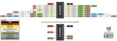 attiny84 arduino programming attiny84 attiny44 with arduino uno