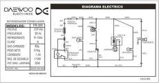 diagrama de refrigerador daewoo solucionado coneccion de un refrigerador daewoo yoreparo