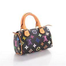 louis vuitton multicolor speedy black louis vuitton multicolor mini sac hl speedy black 142224