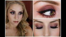 tutorial purple and orange smoky eye morphe 35n palette - Morphe 35n Palette Tutorial