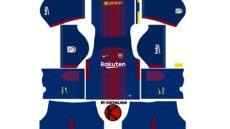 jersey kit dls 18 barcelona 2018 jersey terlengkap - Dls 18 Kit Arsenal 1819
