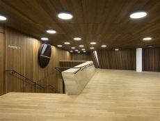 wood plastic composite deck veneer firewood composite genuine wood veneer panels by lindner stylepark