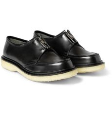 adieu shoes sizing adieu type 37 crepe sole leather derby shoes in black for lyst