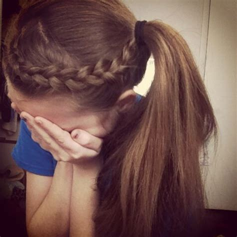 braided updo sports cantbelieveididthis volleyball hairstyles