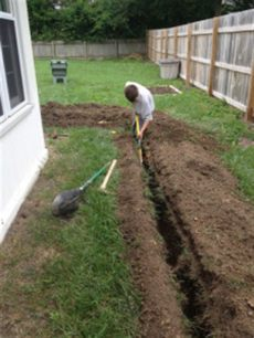 how to unclog a downspout from the ground underground drains gutterco custom gutter installation repair and cleaning serving central ohio