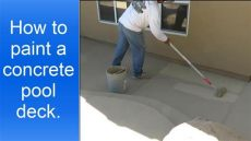 behr concrete pool deck paint how to paint a concrete pool deck