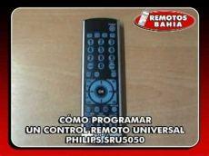 como programar un control universal sanyo c 211 mo programar un remoto universal philips sru5050 remotos bahia