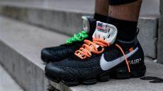 white x nike air vapormax black on foot look fastsole - Nike Off White Vapormax Black On Feet