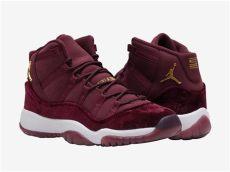 air 11 velvet maroon release date sneaker bar detroit - Air Jordan 11 Heiress Red Velvet Night Maroon