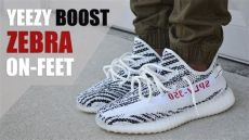 limited yeezy boost 350 v2 zebra review on - Yeezy Boost 350 V2 Zebra On Foot