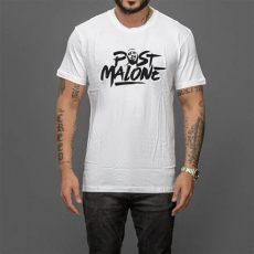 post malone logo t shirt wehustle menswear womenswear hats mixtapes more - Post Malone Merchandise Uk
