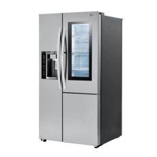 refrigerador lg dos puertas con congelador abajo refrigerador lg dos puertas 21 7 pies con puerta instaview y puerta en puerta lsxc22396s