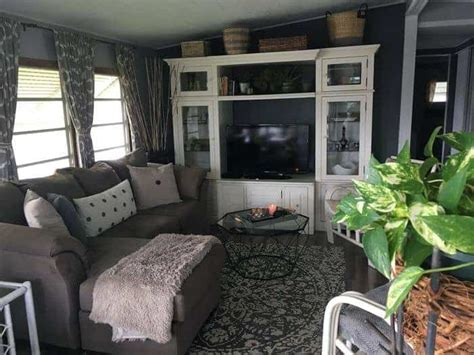 25 awesome single wide mobile home living rooms
