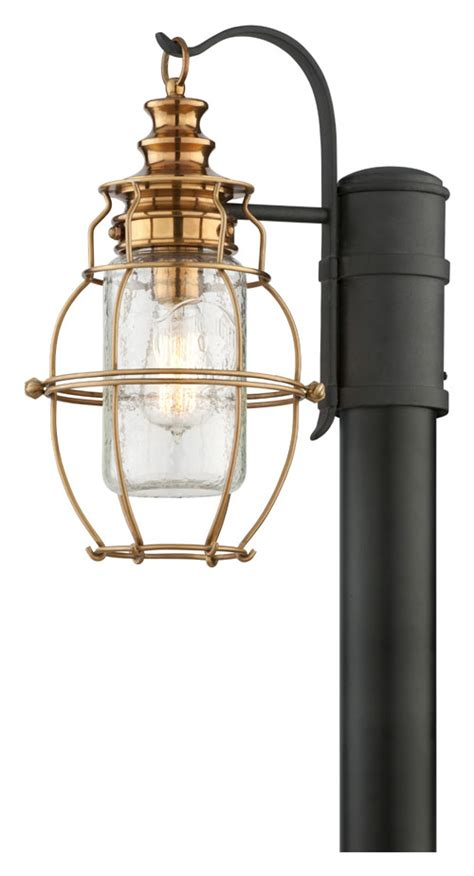 troy p3575 harbor nautical style 14 tall aged