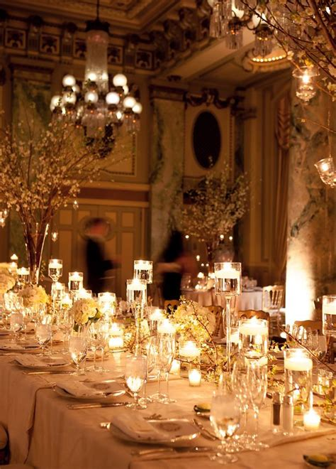 romantic candlelight reception repinned la county celebrant https