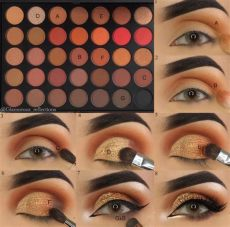 morphe 350m makeup looks pin on eyemakeup