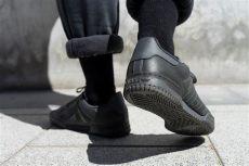 yeezy powerphase calabasas black on feet yeezy powerphase black calabasas weeklysneakers wag1 magazine